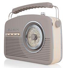 AKAI Vintage Radio - Taupe