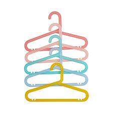 Premier Housewares Spectrum Kids Hangers Multicoloured