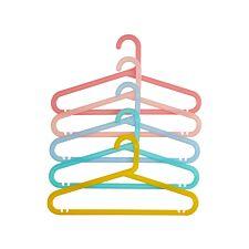 Premier Housewares Spectrum Multicoloured Hangers