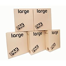 StorePAK 5 Pack Large Storage Boxes