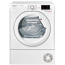 Hoover DXC8DE Condenser Tumble Dryer 8kg Load, Aquavision - White