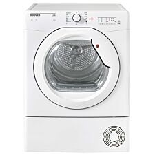Hoover HLV8LG Vented Tumble Dryer with One Touch NFC 8 kg - White