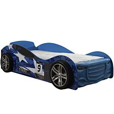 The Artisan Bed Company Twin Turbo Car Bed - Blue