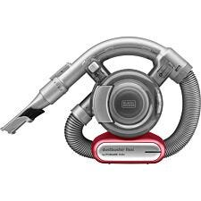 Black + Decker 10.8V Lithium Flexi Dustbuster Vacuum Cleaner - Grey/Red