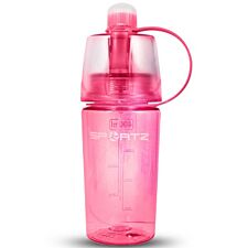 Aquarius SportZ 400ml Travel Water Bottle with Spray Function - Pink