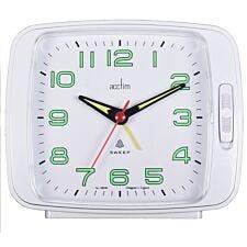 Acctim 'Ada' Bell/Bi Bi Alarm clock - White