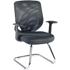 Alphason Atlanta Vis Chair - Black