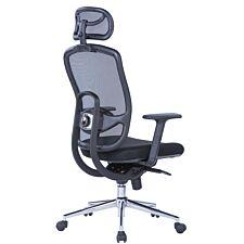 Alphason Miami Mesh Back Chair - Black