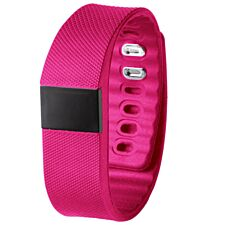 Bas-Tek TW64S Pulse Activity Tracker with Heart Rate Monitor - Pink