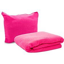 Pink Magic Fibre Fitness Towel - 130cm x 80cm
