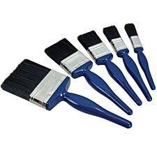 Faithfull Utility Paint Brush Set of 5 19 25 38 50 & 75mm