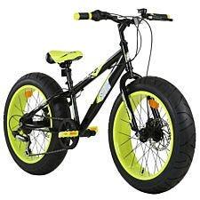 "Sonic 20"" Wheel Fat Bike V Brake - Black/Yellow"