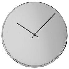 Interiors by Premier Arthur Wall Clock with Mirror Face - Chrome