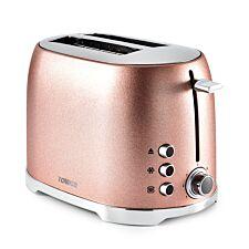 Tower T20029BP 800W 2-Slice Toaster - Blush Pink