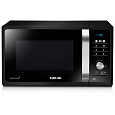 Samsung 23L 800W Solo Manual Microwave Oven - Black