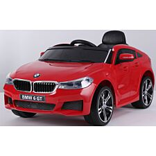 Ricco BMW 6 GT Licensed Kids Electric Ride on Car - Red