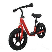 Ricco Balance Bike with 12 inch Wheels - Red