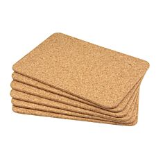 Apollo Cork Placemat Set - 6
