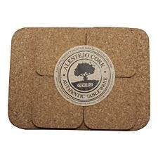 Apollo Cork Placemat and Coaster Set - 4