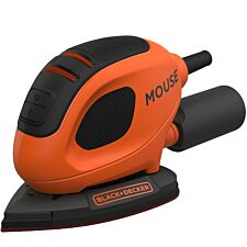 Black & Decker 55W Mouse® Detail Sander and 6 Sanding Sheets