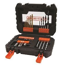 Black & Decker 31 Piece Drilling & Screwdriving Set