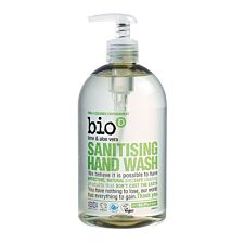 Bio-D Lime and Aloe Vera Sanitising Hand Wash - 500ml