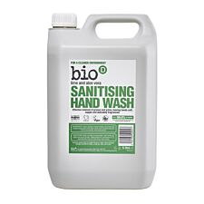 Bio-D Lime and Aloe Vera Sanitising Hand Wash - 5L