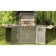 Bahama Island Stainless Steel Gas Barbecue
