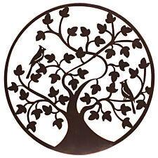 "My Botanical Garden Iron Wall Decoration ""Birds In Tree"" -  Medium"
