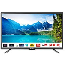 "Sharp LC-24CHG6131KF 24"" HD Ready LED Smart TV Freeview Play & DTS TruSurround - Black"