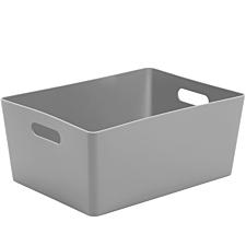 Wham Rectangular Studio Store Basket 5.02 - Cool Grey
