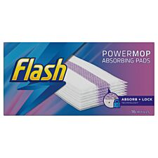 Flash PowerMop Refill Pads - 16 Pack