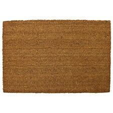 Mud Stopper 45 x 75cm Astley Natrual PVC Backed Coir Doormat