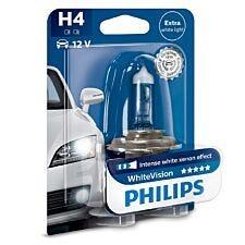 Philips WhiteVision H4 Car Headlight Bulb