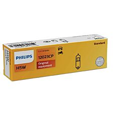 Philips H5W Conventional Interior and Signalling Bulb - 10 Pack