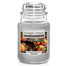 Yankee Candle Home Inspiration Citrus Bark Jar Candle