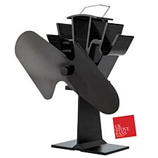 UK Stove Fans 2 Blade Heat Powered Stove Fan