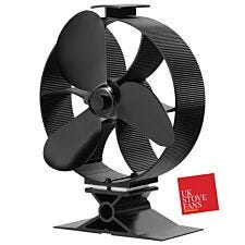 UK Stove Fans 3 Blade Heat Powered Stove Fan