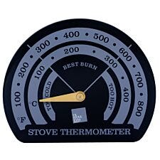 UK Stove Fans 80mm Magnetic Flue Pipe Stove Temperature Gauge