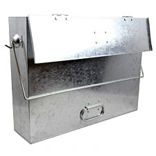 UK Stove Fans Galvanised Steel Ash Caddy