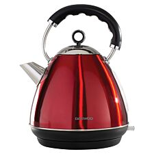 Daewoo SDA1578 3KW Kensington 1.7L Pyramid Kettle – Red