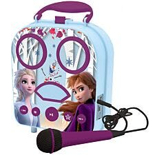Lexibook Disney Frozen II My Secret Portable Karaoke with Microphone & Bluetooth Speaker