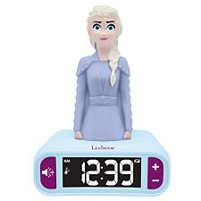 Lexibook Disney Frozen II Night Light Radio Alarm Clock