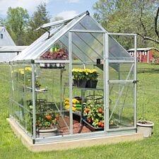 Palram Hybrid Greenhouse - Silver