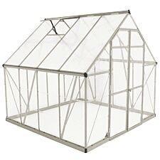 Palram Balance Greenhouse 8 x 8 - Silver