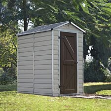 Palram 6' SkyLight Shed - Tan