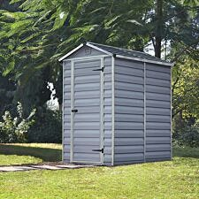 Palram 6' SkyLight Shed - Grey