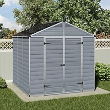 Palram 8' SkyLight Shed - Grey