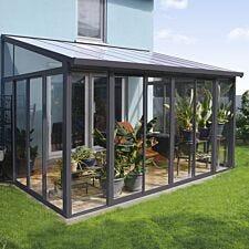 Palram SanRemo 3m x 4.25m Veranda - Grey