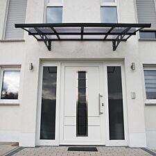 Palram Herald Door Canopy - Grey